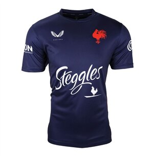 Castore Sydney Roosters 2021 Training T Shirt Mens