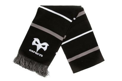 Ospreys - Écharpe Rugby Rayée Brodée