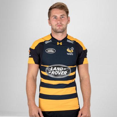 Under Armour Wasps 2018/19 - Maillot de Rugby Test Domicile Joueurs
