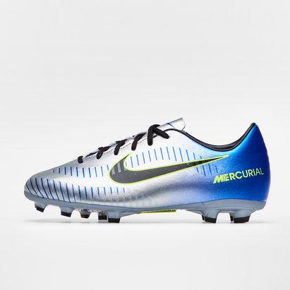 Nike Mercurial Superfly V D Fit Neymar FG Crampons de Foot Enfants