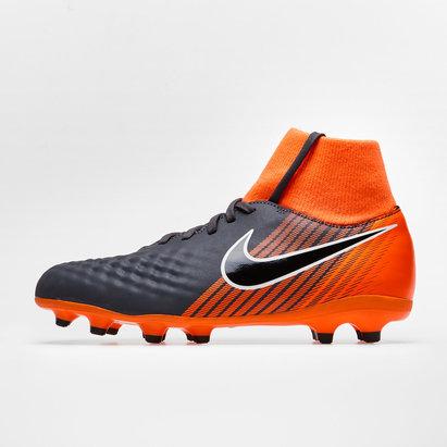 best authentic 036f1 85d9e Nike Magista Obra II Academy D-Fit FG - Crampons de Foot Enfants