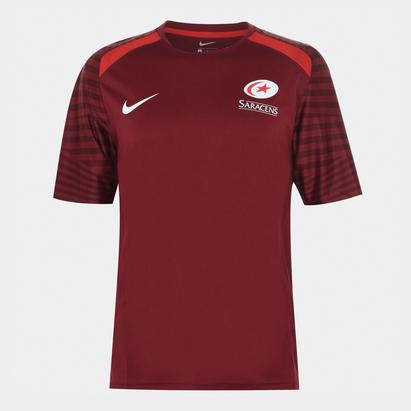 Nike Saracens 20/21 Training T-Shirt Mens