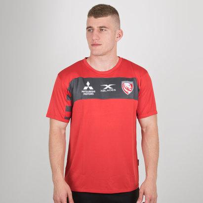 X Blades Gloucester 2018/19 - Tshirt de Rugby Entraînement Joueurs