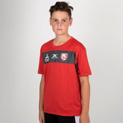 X Blades Gloucester 2018/19 - Tshirt de Rugby Entraînement Enfants