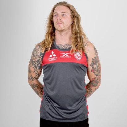 X Blades Gloucester 2018/19 - Débardeur de Rugby Entraînement Joueurs