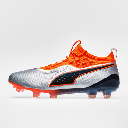 Puma One 1 Leather FG/AG - Crampons de Foot