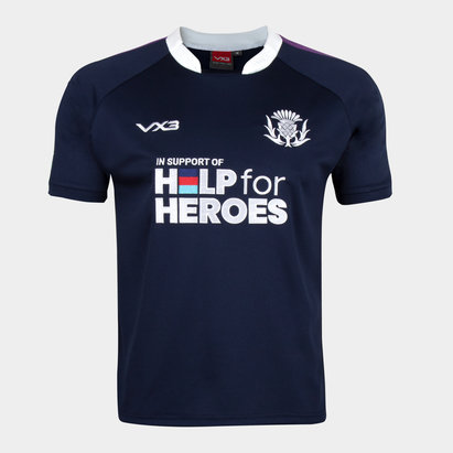 VX-3 Help 4 Heroes Scotland Short Sleeve Jersey Mens