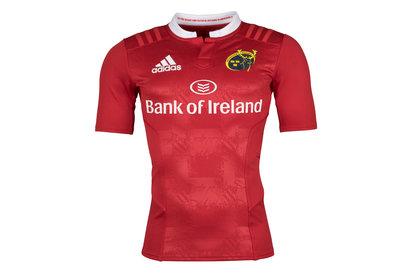 adidas Munster 2015/16 - Maillot De Rugby Authentic Joueurs Domicile