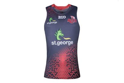 Zoo Sport Queensland Reds 2018 - Débardeur de Super Rugby Entraînement Joueurs