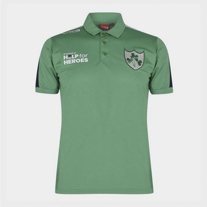 VX-3 Help 4 Heroes Ireland Polo Shirt Mens