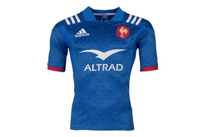 adidas France 2018 - Maillot De Rugby Réplique Domicile
