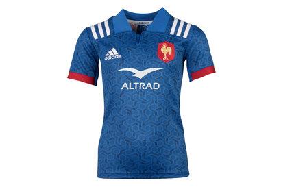 adidas France 2018 - Maillot De Rugby Réplique Domicile Enfants