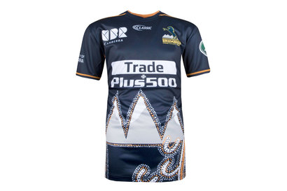Classic Sportswear Brumbies 2018 - Tshirt Super Rugby Captains Run Adolescents