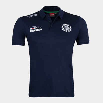 VX-3 Help 4 Heroes Scotland Polo Shirt Mens