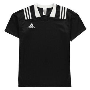 adidas adidas Team Wear - Maillot de Rugby Ajusté 3 bandes