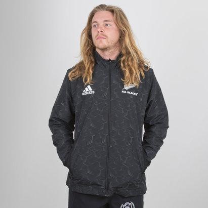 adidas Nlle Zélande All Blacks 2018/19 - Veste de Présentation Joueurs