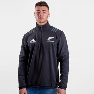 adidas Nlle Zélande All Blacks 2018/19 - Polaire de Rugby