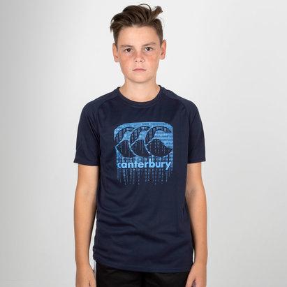 Canterbury Vapodri Poly - Tshirt Logo Enfants