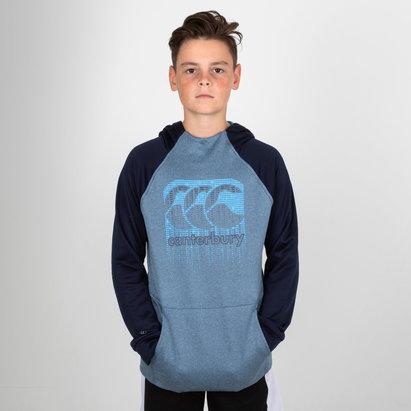 Canterbury Vaposhield - Pull de Rugby à Capuche Entraînement Adolescents