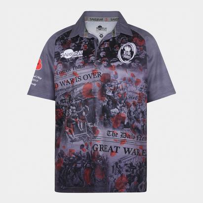 Samurai Armée Britannique WWI - Maillot de Rugby Commémoratif