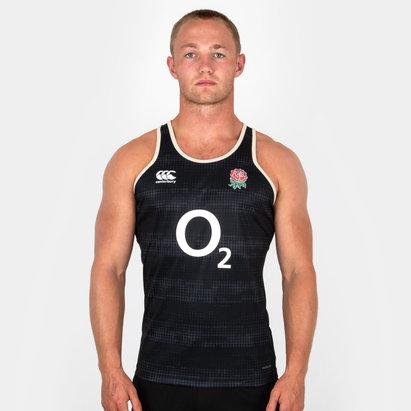 Canterbury Angleterre 2018/19 - Débardeur de Rugby Entrainement Joueurs