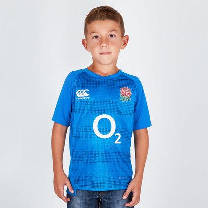 Canterbury Angleterre 2018/19 - Tshirt de Rugby Graphique Enfants