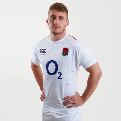 Canterbury Angleterre 2018/19 - Maillot de Rugby Test Joueurs