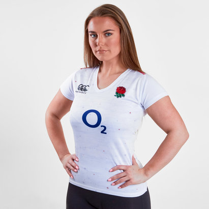 Canterbury Angleterre 2018/19 - Maillot de Rugby Pro Domicile Femmes