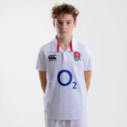 Canterbury Angleterre 2018/19 - Maillot de Rugby Classique Domicile Enfants
