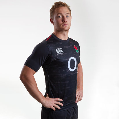 Canterbury Angleterre 2018/19 - Maillot de Rugby Joueurs Test Alterné