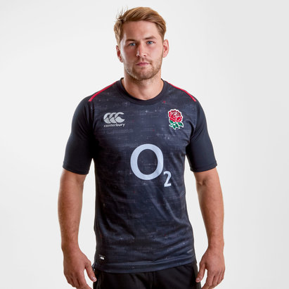 Canterbury Angleterre 2018/19 - Maillot de Rugby Pro Alterné