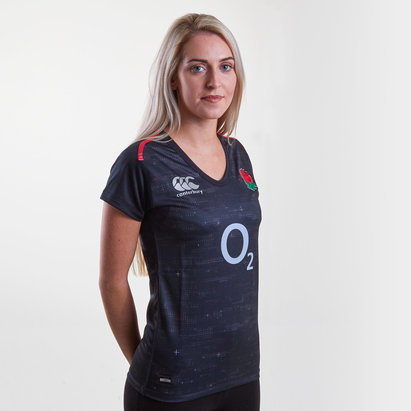 Canterbury Angleterre 2018/19 - Maillot de Rugby Pro Alterné Femmes