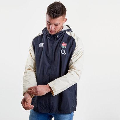 Canterbury Angleterre 2018/19 - Manteau de Rugby Tout Temps Zippé Joueurs