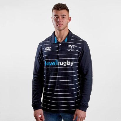 Canterbury Ospreys 2018/19 - Maillot de Rugby Classique M/L Domicile