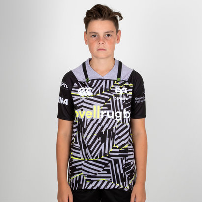 Canterbury Ospreys 2018/19 - Maillot de Rugby Pro 3° Enfants