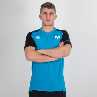 Canterbury Ospreys 2018/19 - Tshirt de Rugby PErformance Coton