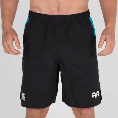 Canterbury Ospreys 2018/19 - Shorts de Rugby Tissé Entraînement Gym Joueurs