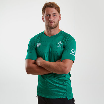 Canterbury Irlande IRFU 2018/19 - Tshirt d'entrainement de Rugby Superlight
