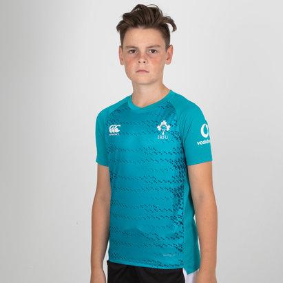 Canterbury Irlande IRFU 2018/19 - Tshirt d'entrainement de Rugby Superlight Enfants
