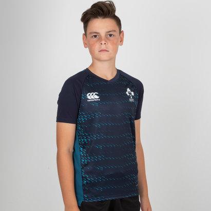 Canterbury Irlande IRFU 2018/19 - Tshirt d'entrainement de Rugby Superlight Jeunes