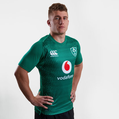 Canterbury Irlande IRFU 2018/19 - Maillot de Rugby Test Joueurs Domicile