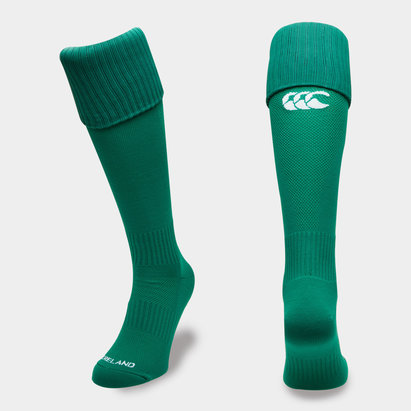 Canterbury Irlande IRFU 2018/19 - Chaussettes de Rugby Domicile