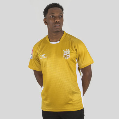 X Blades New Orleans Gold MLR 2018 - Maillot de Rugby Domicile