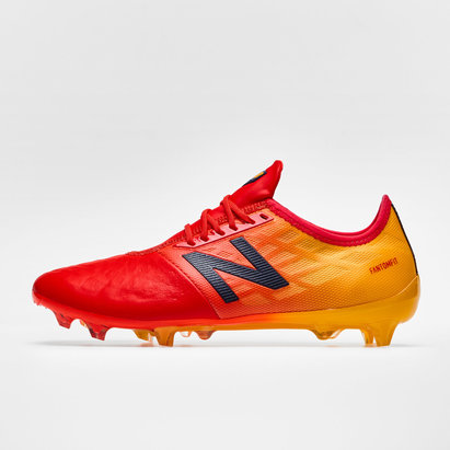 New Balance Furon 4.0 Pro Leather FG - Crampons de Foot