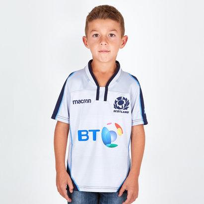 Macron Écosse 2018/19 - Maillot de Rugby Réplique Alterné Enfants