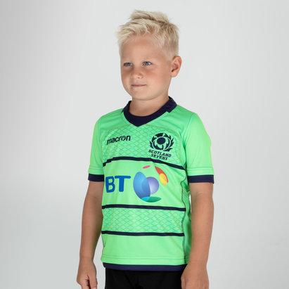 Macron Ecosse 2018/19 - Maillot Réplique Rugby à 7 Enfants M/C