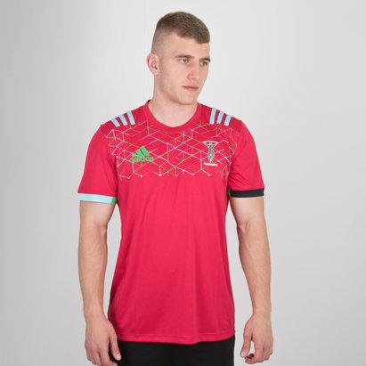 adidas Harlequins 2018 - Tshirt de Rugby Performance Joueurs