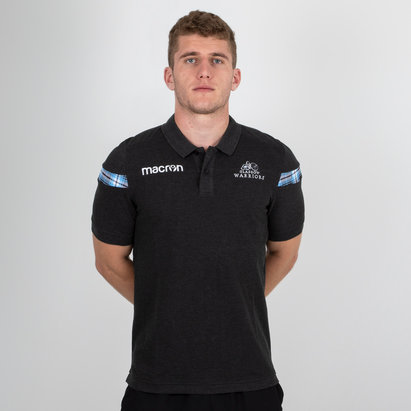 Macron Glasgow Warriors 2018 - Polo de Rugby en Coton Pique