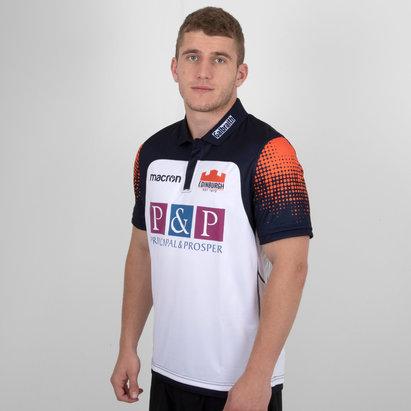 Macron Edimbourgh 2018/19 - Maillot de Rugby Pro Alterné