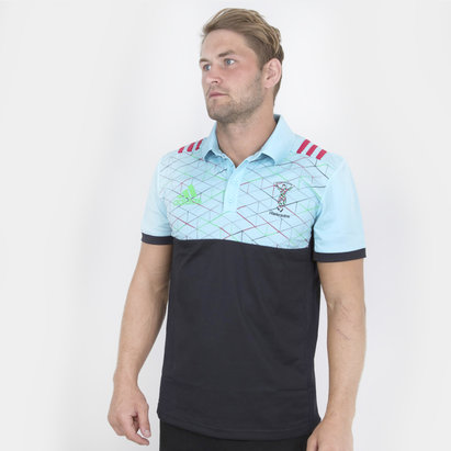 adidas Harlequins 2018/19 - Polo de Rugby Performance Joueurs